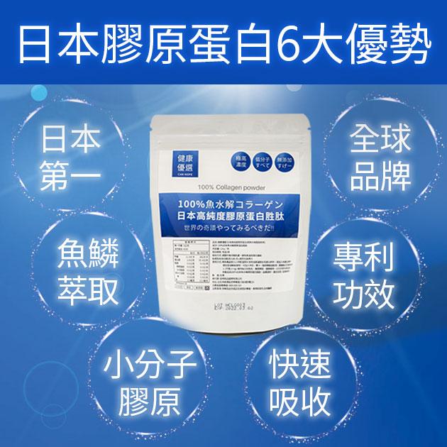 【買3送1】100%日本高純度膠原蛋白胜肽專業級(袋裝) 2